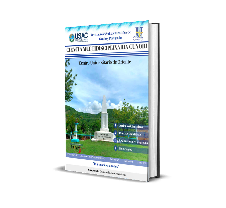 Ver Vol. 5 Núm. 1 (2021): Revista Ciencia Multidisciplinaria CUNORI
